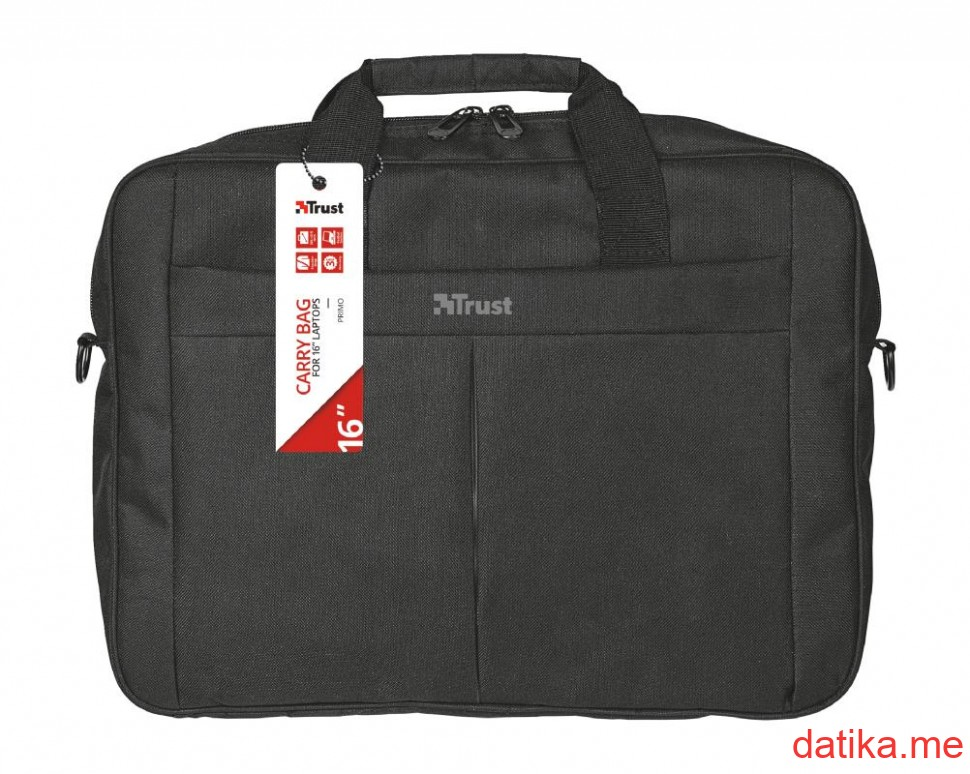 "Trust Primo Carry Bag for 16"" laptops"