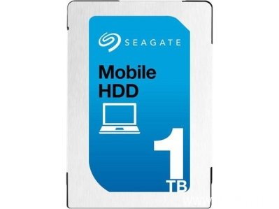 "Seagate Mobile HDD 1TB 2.5"" SATA III, ST1000LM035"
