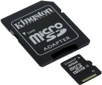 Kingston 32GB MicroSDHC Card with SD adaptor Class 4