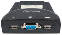 Manhattan 2-Port Mini KVM Switch (with audio)