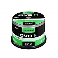 Intenso DVD-R, 4.7GB/120 Minutes,Single Layer Cake Box 50kom