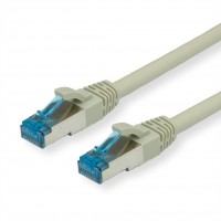 Value cat. 6a, S/FTP, 3m, Patch cable, gray