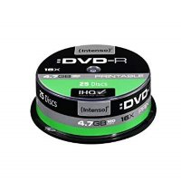 Intenso DVD-R, 4.7GB/120 Minutes
