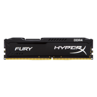 Kingston HyperX Fury Black 16GB DDR4 2666MHz, HX426C16FB3/16