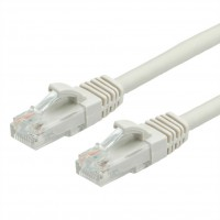 Value cat. 6a, U/UTP, 0.5m, Patch cable, gray