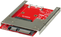 Rotronic ROLINE Adapter, mSATA SSD to 2.5 SATA 22pin