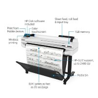 HP DesignJet T525 36-in Ploter, 5ZY61A