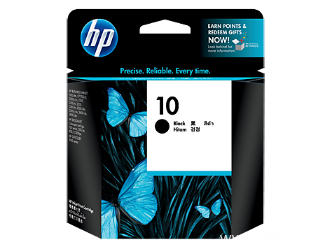 HP NO.10 BLACK INK CARTRIDGE ZA PLOTER 70/500/800/100/110/815MFP/OFF.J. PRO K850,BUSS.1000/2800/2300