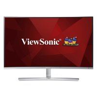 "ViewSonic VX3216-SCMH-W-2 31.5"" Full HD MVA Curved Monitor with Dual Speakers"