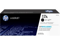 HP 17A Black Original LaserJet Toner Cartridge, CF217A