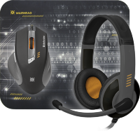 Defender Warhead MPH-1500 gaming combo: mouse + headset + mousepad