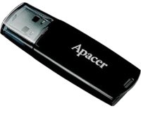 Apacer 8GB AH322 USB 2.0 flash crni