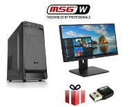 SET PC MSGW Office i5-8400/8GB/240GB SSD + Monitor AOC 21.5""