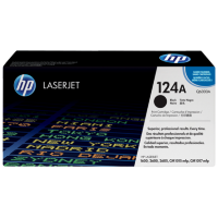 HP 124A Black Original LaserJet Toner Cartridge (Q6000A)