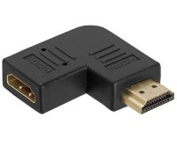 E-green Adapter HDMI (M) - HDMI (F) crni
