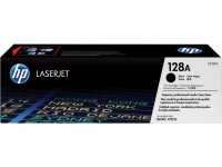 HP 128A  Black Original LaserJet Toner Cartridge  (CE320A)
