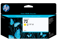 HP No.72 130 ml Yellow Ink Cartridge with Vivera Ink za ploter T610