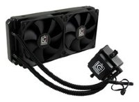 LC-Power 240 Liquid CPU Cooler with two 120 mm fans