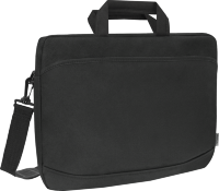 Defender Laptop bag Monte 17'' black, organizer