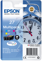 Epson Br.27 Tri-colour 3x 3.6ml - za WorkForce WF-7710DWF