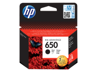HP 650 BLACK INK CARTR ,HP DESKJET INK ADVANTAG 2515,3515