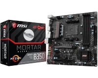 MSI B350M MORTAR + MSI Interceptor DS B1 gaming mis