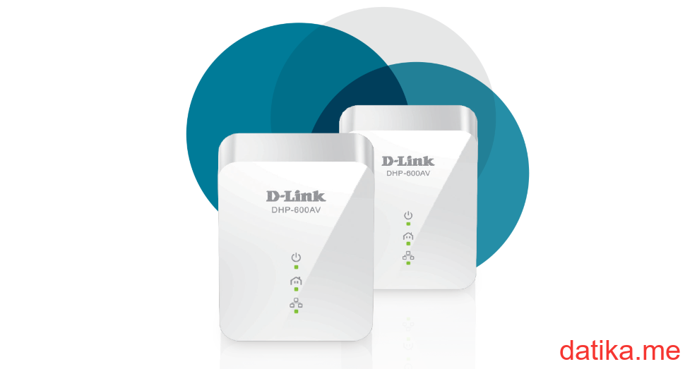 D-Link PowerLine AV2 1000 Gigabit Starter Kit DHP-601AV