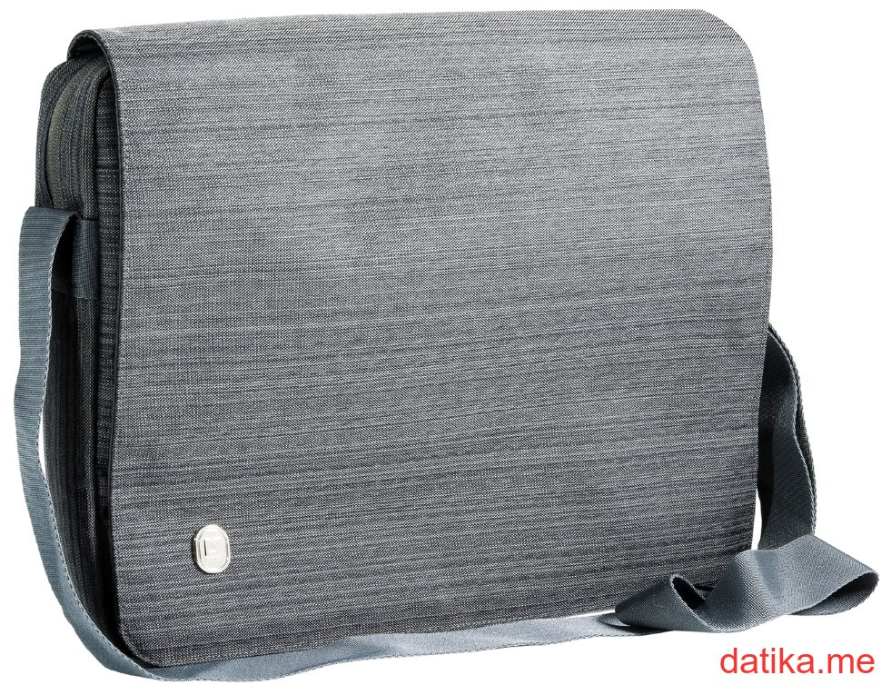 Defender Laptop bag Liberty Roomy 15'-16' grey, organizer, flap
