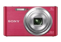 Sony DSC-W830P Compact camera with 8x Optical Zoom