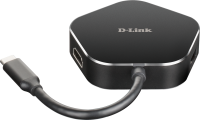 D-link 4‑in‑1 USB‑C Hub with HDMI