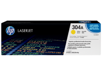 HP 304A Yellow Original LaserJet Toner Cartridge (CC532A)