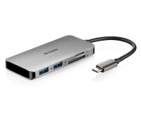 Dlink 6‑in‑1 USB‑C Hub with HDMI/Card Reader/Power Delivery