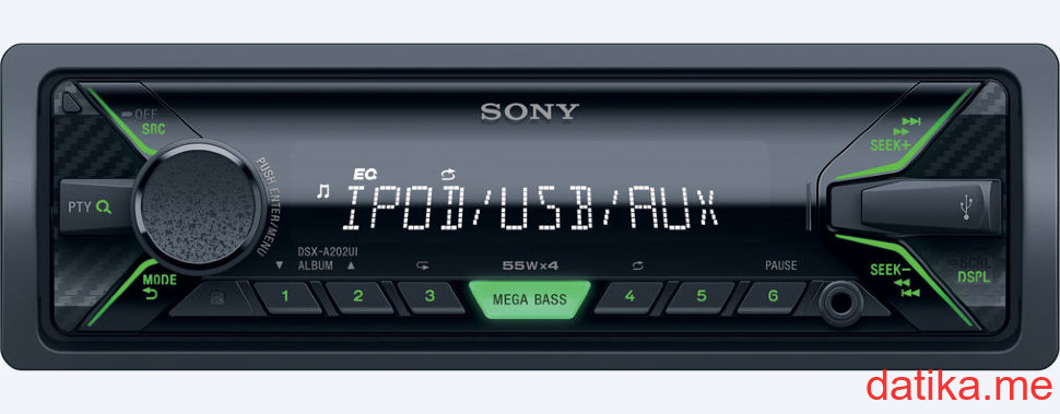 Sony DSX-A202UI In-car audio system with USB/AUX