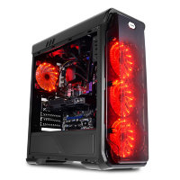 LC Power 988B Red Typhoon gaming kuciste