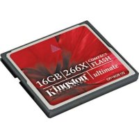 Kingston CompactFlash Card 16GB Ultimate 266X