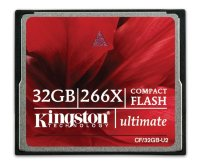 Kingston CompactFlash Card 32GB Ultimate 266X