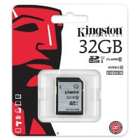 Kingston SDHC/SDXC 32GB Class 10 UHS-I Card