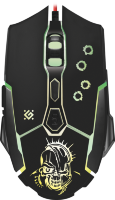 Defender Killer GM-170L Wired gaming mouse (3200dpi)+mouse pad
