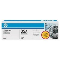 HP 35A Black Original Above Toner Cartridge (CB435A)