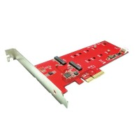 Rotronic Roline PCIe M.2 SATA AHCI adapter