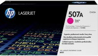 HP 507A Magenta Original LaserJet Toner Cartridge (CE403A)