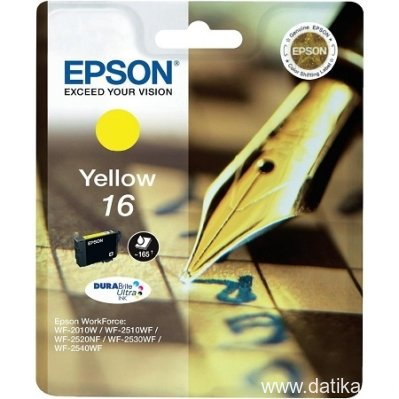 Epson INK JET Br.T1624, (Yellow) - za WorkForce WF-2520NF AiO/WF2510WF