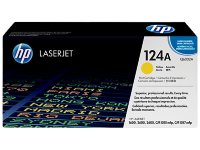 HP 124A Yellow Original LaserJet Toner Cartridge (Q6002A)