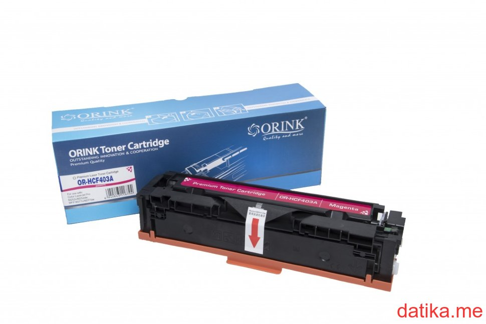 Orink HP Br.201A (CF403A) Magenta, (1400 str.) za HP LaserJet Pro 200 Color Printer M252n/M252dwM277dw