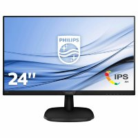 "Philips V-line 243V7QDAB/00 23.8"" Full HD IPS monitor"