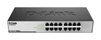 D-Link DES‑1016D 16‑Port Fast Ethernet Unmanaged Desktop Switch