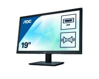 "AOC 18.5"" E975SWDA HD Ready TN LED monitor"