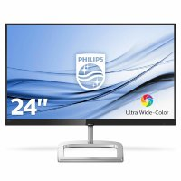 "Philips E-line 246E9QJAB/00 23.8"" Full HD, IPS, 3W Speakers, Ultra Wide-Color monitor"