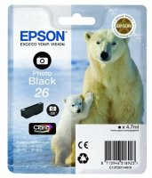 Epson Ink Jet Br.T2611, (Photo Black) - za Expression Premium XP-600 AiO/XP-605/XP-700/XP800/