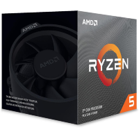 AMD Ryzen 5 3600XT (Total L3 Cache 32MB, Up to 4.5GHz)
